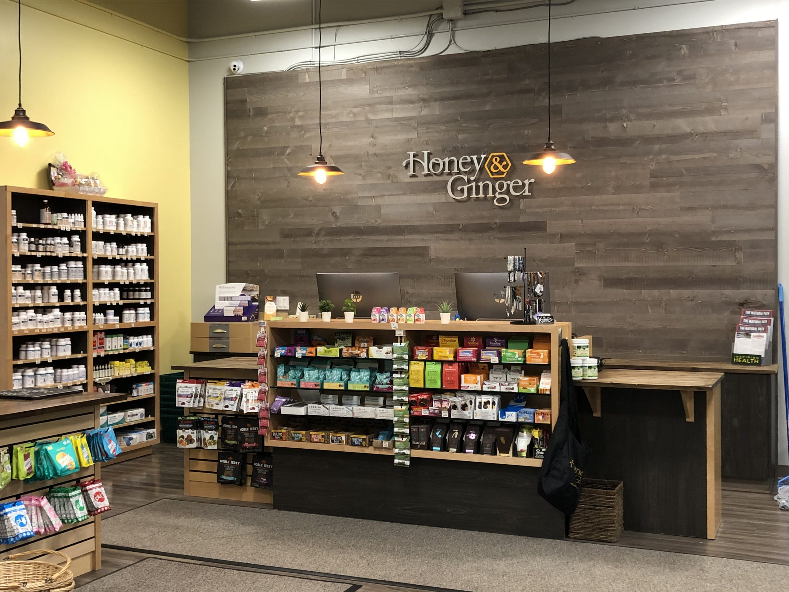 Honey & Ginger - retail construction project