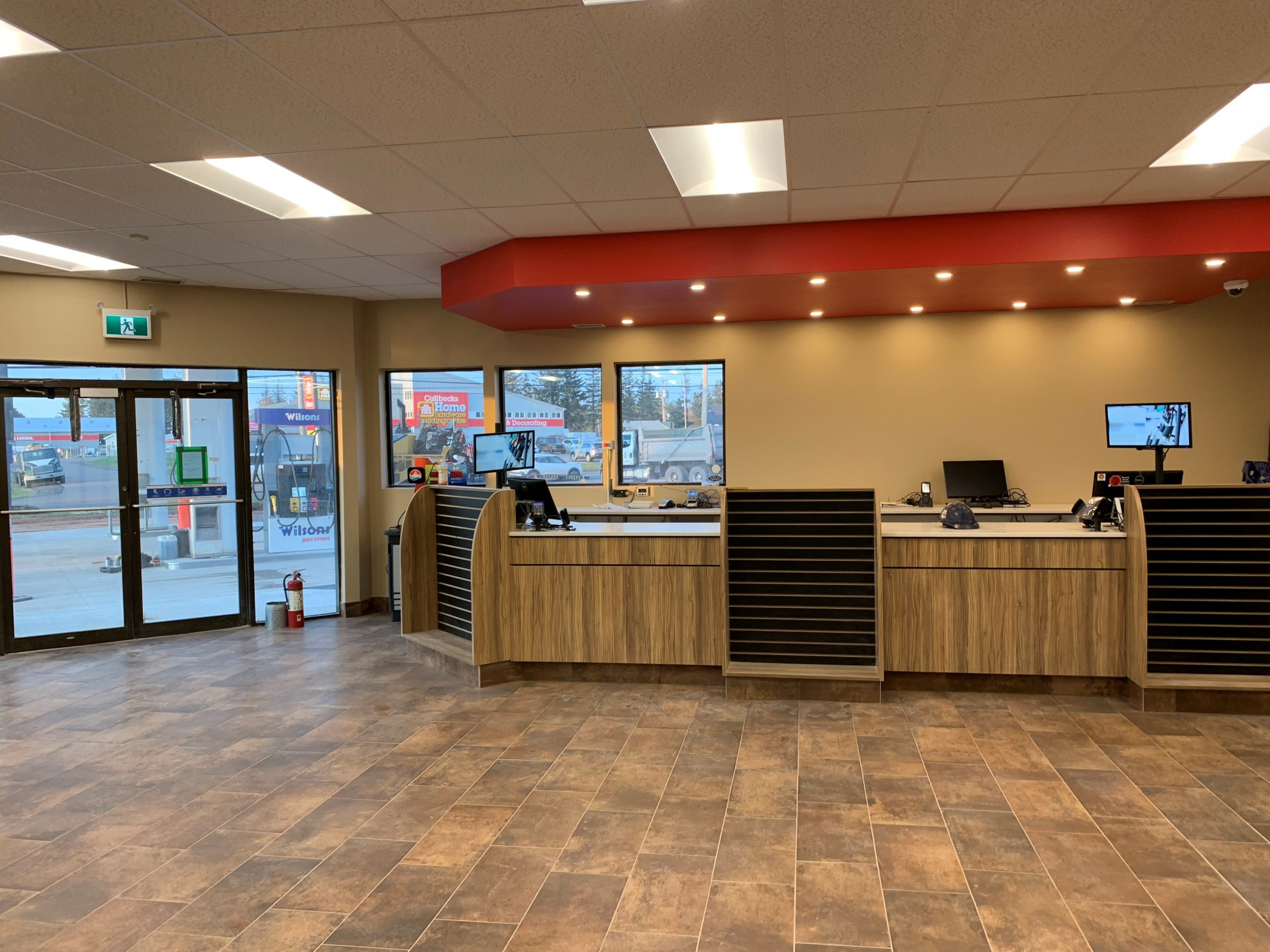 wilsons fuels retail construction project